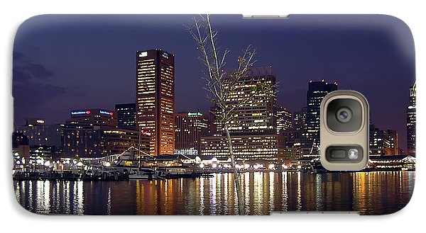 Galaxy Case featuring the photograph Baltimore Reflections by Brian Wallace