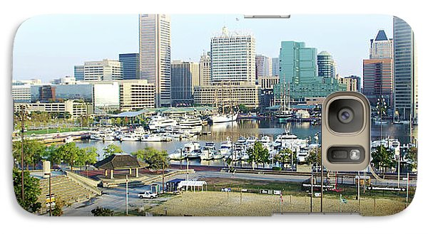 Galaxy Case featuring the photograph Baltimore's Inner Harbor by Brian Wallace