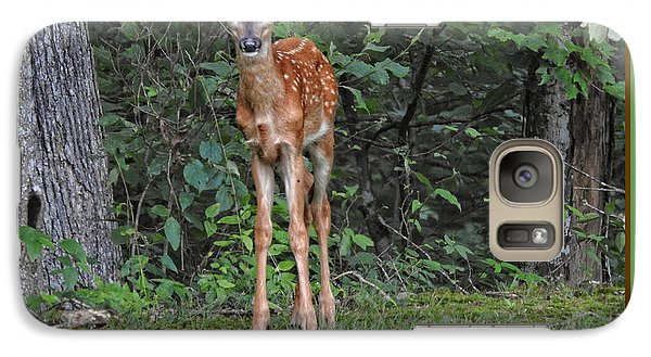 Galaxy Case featuring the photograph Bambi by Brenda Bostic