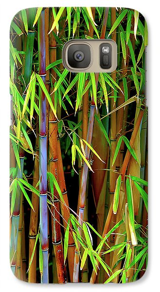 Galaxy Case featuring the photograph Bamboo by Harry Spitz