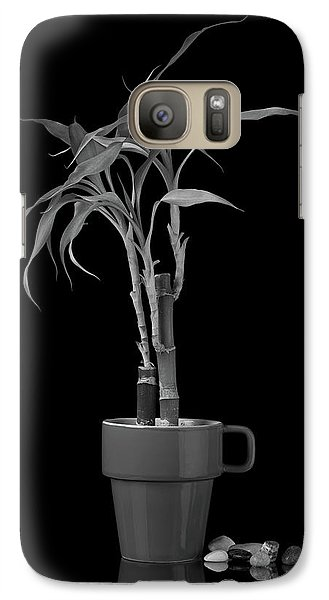 Galaxy Case featuring the photograph Bamboo Plant by Tom Mc Nemar