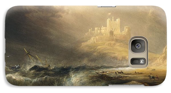 Bamborough Castle Galaxy S7 Case by Willliam Andrews Nesfield