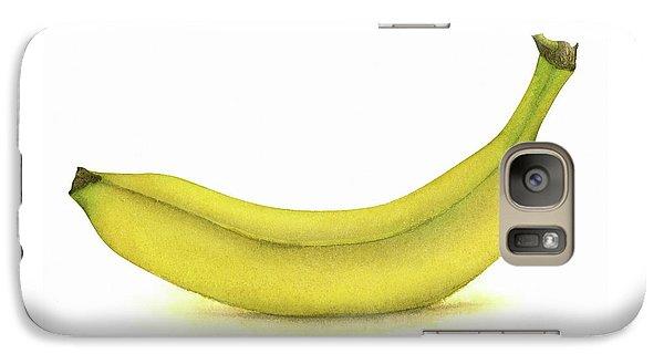 Banana Watercolor Galaxy S7 Case