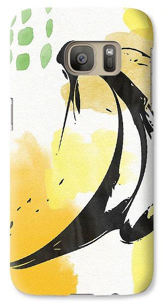 Bananas- Art By Linda Woods Galaxy S7 Case
