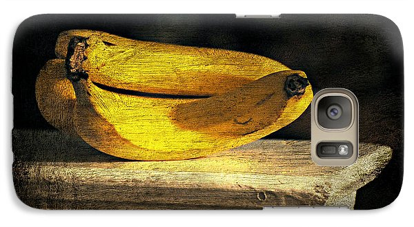 Galaxy Case featuring the photograph Bananas Pedestal by Diana Angstadt
