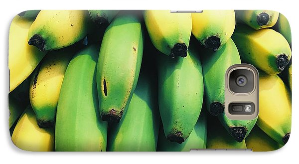 Bananas Galaxy S7 Case by Happy Home Artistry
