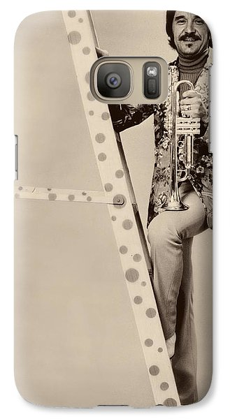 Band Leader Doc Serverinsen 1974 Galaxy S7 Case by Mountain Dreams