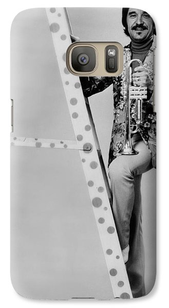 Band Leader Doc Severinson 1974 Galaxy S7 Case by Mountain Dreams