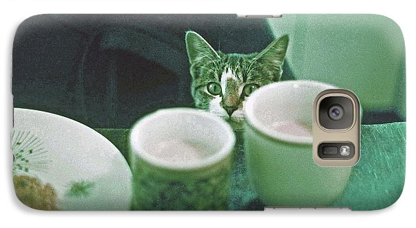 Galaxy Case featuring the photograph Bandit by Laurie Stewart