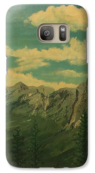 Galaxy Case featuring the painting Banff by Terry Frederick
