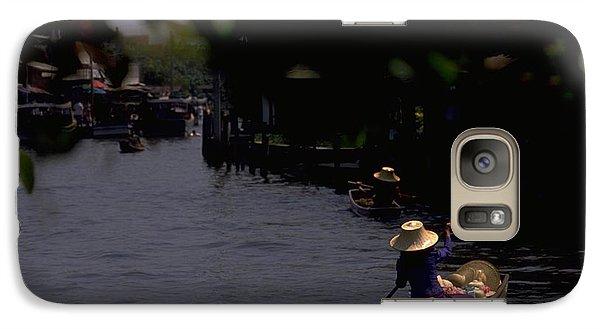 Bangkok Floating Market Galaxy S7 Case