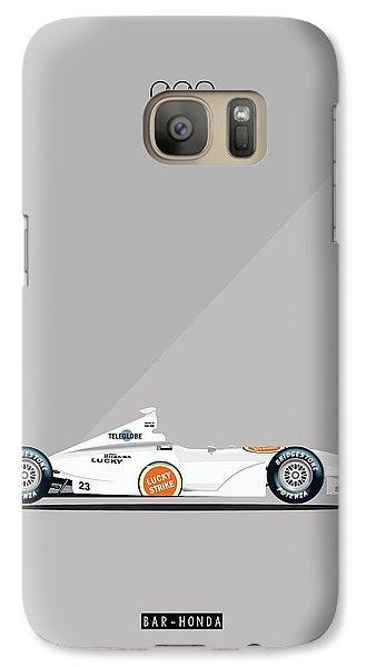 Bar Honda 003 F1 Poster Galaxy S7 Case