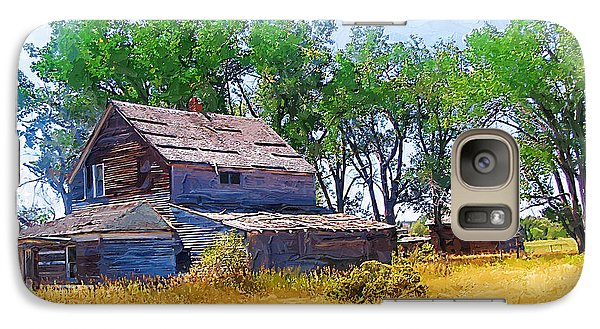 Galaxy Case featuring the photograph Barber Homestead by Susan Kinney