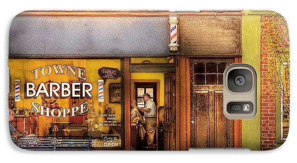Barber - Towne Barber Shop Galaxy S7 Case