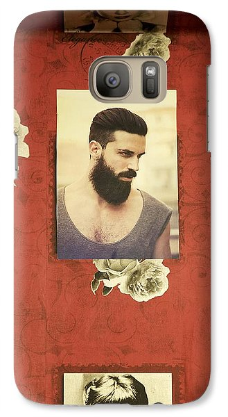 Galaxy Case featuring the photograph Barbershop by Colleen Williams