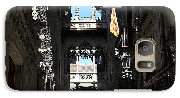 Galaxy Case featuring the photograph Barcelona 1 by Andrew Fare