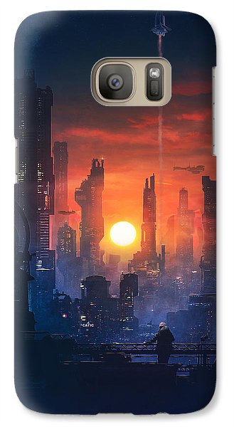 Barcelona Smoke And Neons The End Galaxy S7 Case