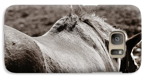 Galaxy Case featuring the photograph Bareback by Angela Rath
