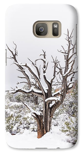 Galaxy Case featuring the photograph Bark And White by Laura Pratt