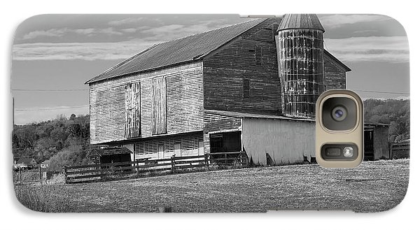 Galaxy Case featuring the photograph Barn 1 by Mike McGlothlen