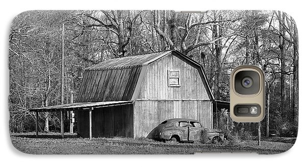 Galaxy Case featuring the photograph Barn 2 by Mike McGlothlen