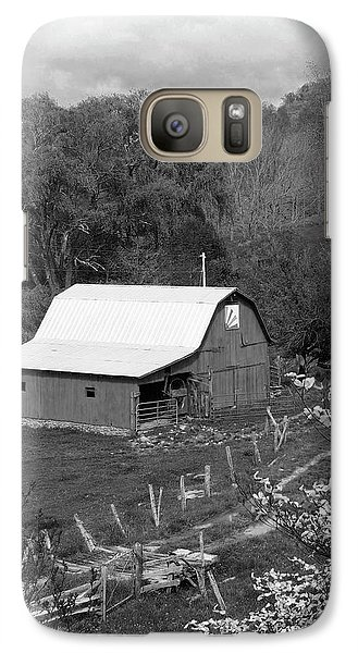Galaxy Case featuring the photograph Barn 3 by Mike McGlothlen