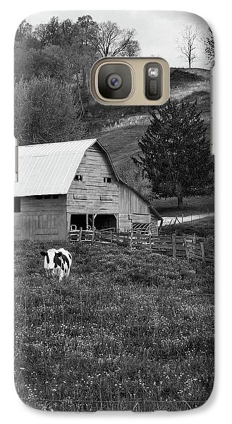 Galaxy Case featuring the photograph Barn 4 by Mike McGlothlen