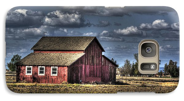 Galaxy Case featuring the photograph Barn After Storm by Jim and Emily Bush