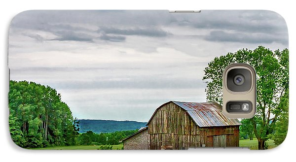 Galaxy Case featuring the photograph Barn In Bliss Township by Bill Gallagher