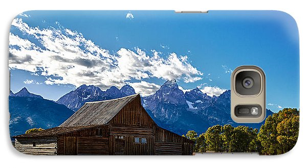 Barn On Mormon Row Galaxy S7 Case