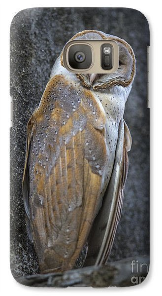Barn Owl Galaxy S7 Case