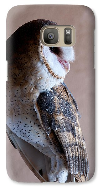 Galaxy Case featuring the photograph Barn Owl by Monte Stevens
