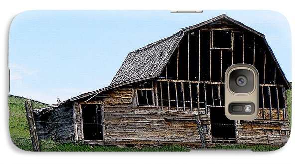 Galaxy Case featuring the photograph Barn by Susan Kinney