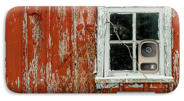 Galaxy Case featuring the photograph Barn Window by Dan Traun
