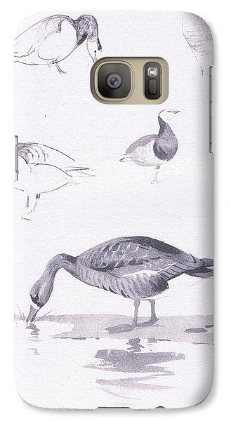 Barnacle And White Fronted Geese Galaxy S7 Case