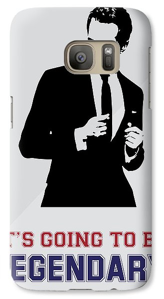 Barney Stinson Poster How I Met Your Mother - It's Going To Be Legendary Galaxy S7 Case