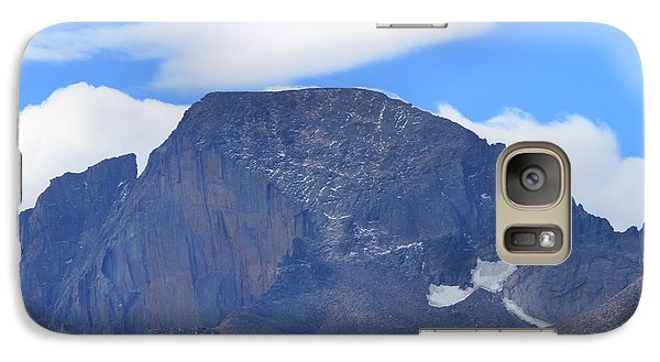 Galaxy Case featuring the photograph Barren Mountain Landscape Colorado by Dan Sproul
