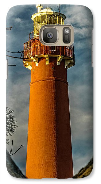 Galaxy Case featuring the photograph Barrny Thru The Trees by Nick Zelinsky