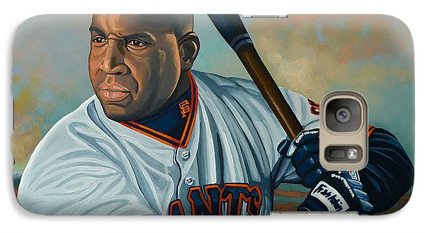 Barry Bonds Galaxy S7 Case by Paul Meijering