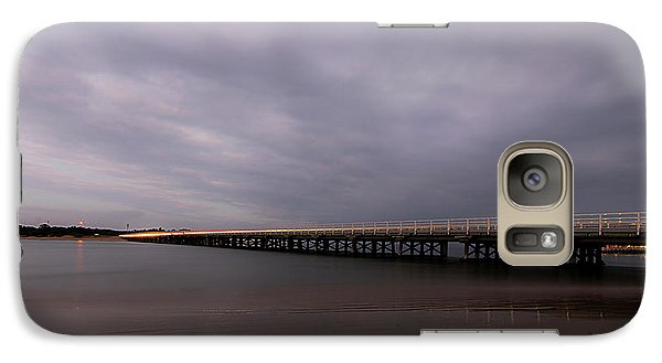 Galaxy Case featuring the photograph Barwon Heads Bridge by Linda Lees
