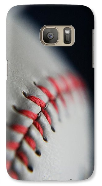 Baseball Fan Galaxy S7 Case by Rachelle Johnston