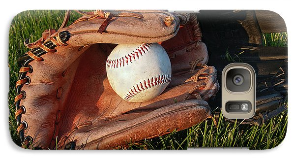 Baseball Gloves After The Game Galaxy S7 Case by Anna Lisa Yoder