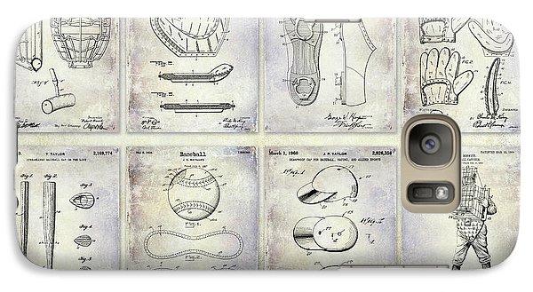 Oriole Galaxy S7 Case - Baseball Patent History by Jon Neidert