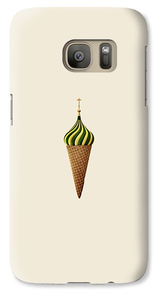Basil Flavoured Galaxy S7 Case by Nicholas Ely