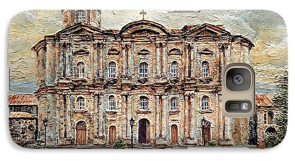 Galaxy Case featuring the painting Basilica De San Martin De Tours by Joey Agbayani