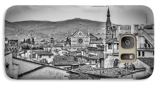Galaxy Case featuring the photograph Basilica Di Santa Croce by Sonny Marcyan