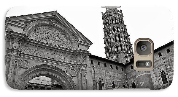Galaxy Case featuring the photograph Basilique St Sernin In Toulouse by Cendrine Marrouat