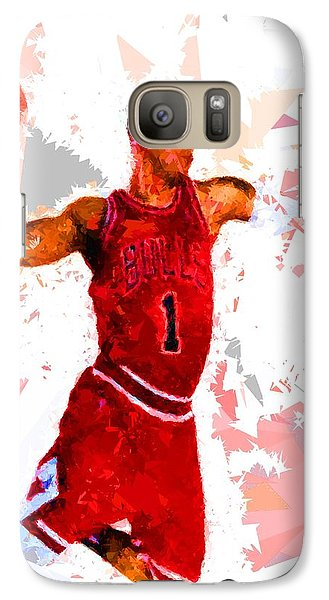 Galaxy Case featuring the painting Basketball 1 by Movie Poster Prints