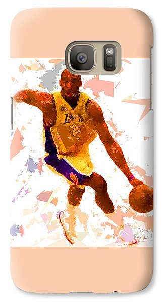 Galaxy Case featuring the painting Basketball 24 A by Movie Poster Prints