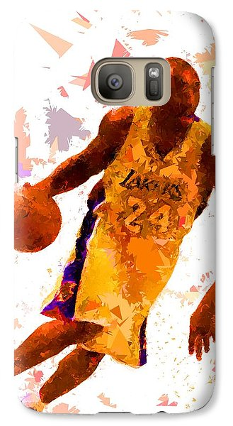 Galaxy Case featuring the painting Basketball 24 by Movie Poster Prints